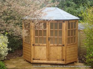 Frensham double door Gazebo 8X6 with Double Doors.